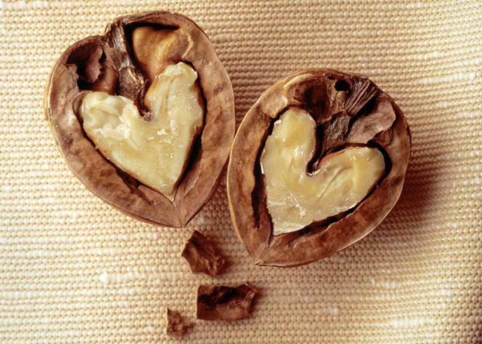 walnut-hearts
